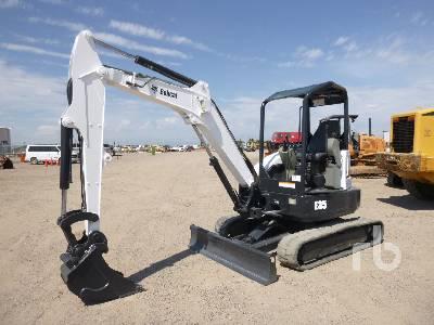 Bobcat 328 Mini Excavator Specs & Dimensions :: RitchieSpecs