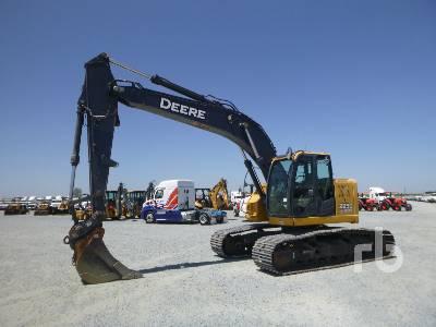 John Deere 450C LC Hydraulic Excavator Specs & Dimensions