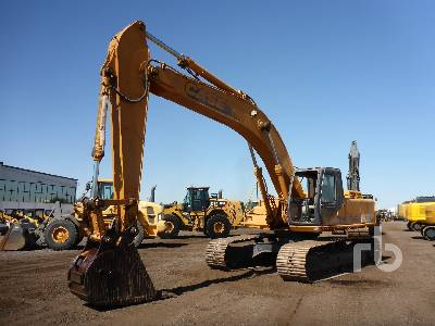 Case CX350 Hydraulic Excavator Specs & Dimensions