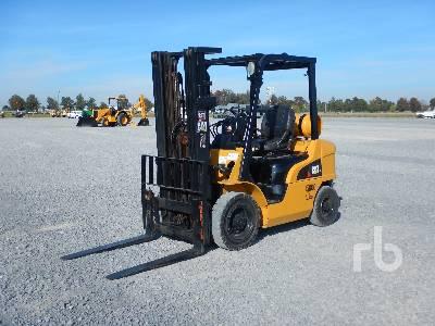 Caterpillar GC45K SWB Forklift Specs & Dimensions