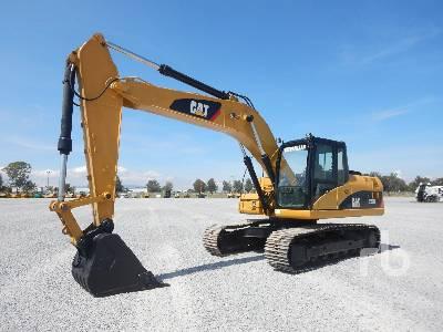 Caterpillar 320D Hydraulic Excavator Specs & Dimensions