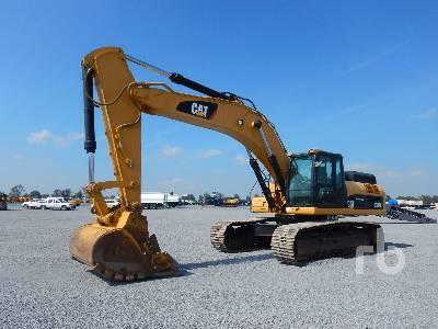Caterpillar 375 Hydraulic Excavator Specs & Dimensions
