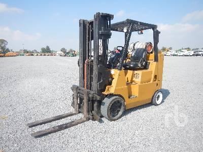 Caterpillar GP50K Forklift Specs & Dimensions :: RitchieSpecs