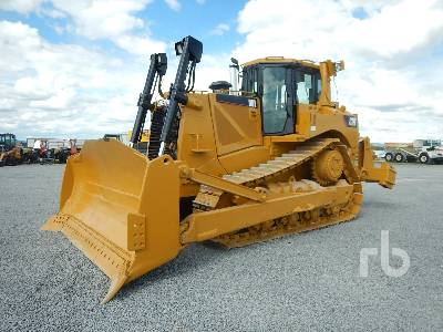 Caterpillar D8T WH Crawler Tractor Specs & Dimensions
