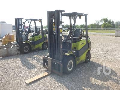 Clark Michigan C25L Forklift Specs Dimensions RitchieSpecs