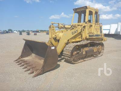 Caterpillar 963 Crawler Loader Specs & Dimensions