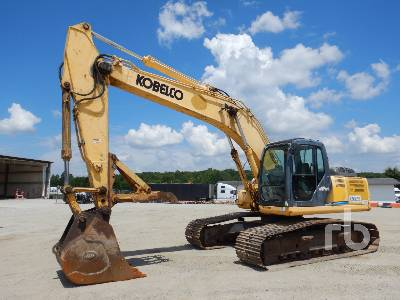 Kobelco SK210 LC Hydraulic Excavator Specs & Dimensions :: RitchieSpecs
