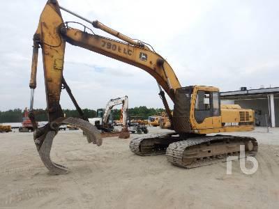 John Deere 790E LC Hydraulic Excavator Specs Dimensions