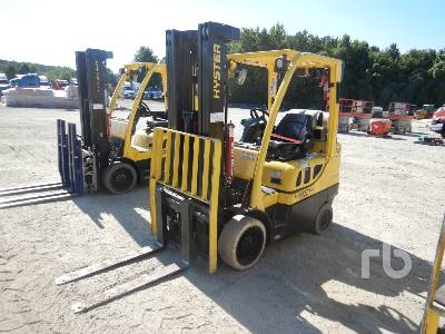 Hyster S60FT (Fortis) Forklift Specs & Dimensions