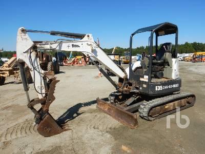 Bobcat 334 Mini Excavator Specs & Dimensions :: RitchieSpecs