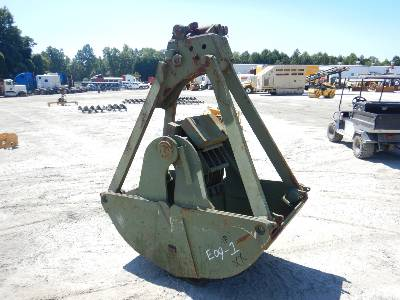 INTERGY 36 In  Clamshell Bucket Crane Accessory - Other Lot