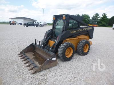 New Holland L190 Skid Steer Loader Specs & Dimensions