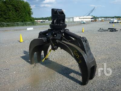 ANVIL Hydraulic Demolition Grapple | Ritchie Bros  Auctioneers