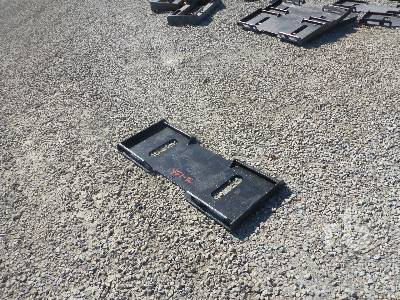 UNUSED MID STATE Quick Attach Plate Skid Steer Attachment