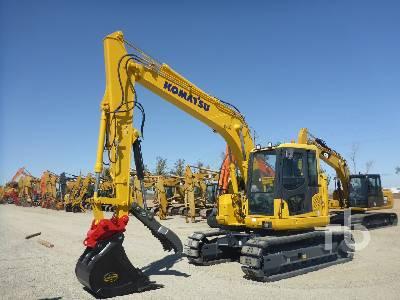 Komatsu PC138US-10 Hydraulic Excavator Specs & Dimensions