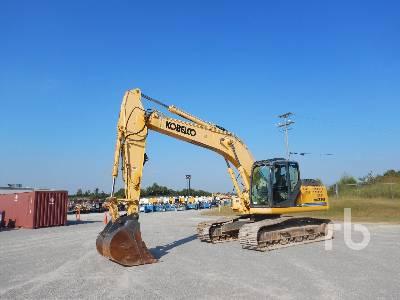 Kobelco SK210 LC Hydraulic Excavator Specs & Dimensions
