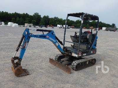 Terex TC16 Mini Excavator Specs & Dimensions :: RitchieSpecs