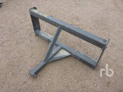 UNUSED 2 In  Reese Hitch Skid Steer 3 Point Adapter