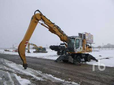2009 LIEBHERR A904C 4x4 Mobile Excavator