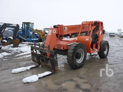 2008 JLG 8042 8000 Lb 4x4x4 Telescopic Forklift