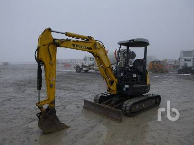 2011 NEW HOLLAND E35B Mini Excavator (1 - 4.9 Tons)