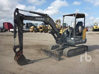2012 VOLVO EC35C Mini Excavator (1 - 4.9 Tons)