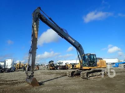 2013 JOHN DEERE 210G LC Long Reach Hydraulic Excavator