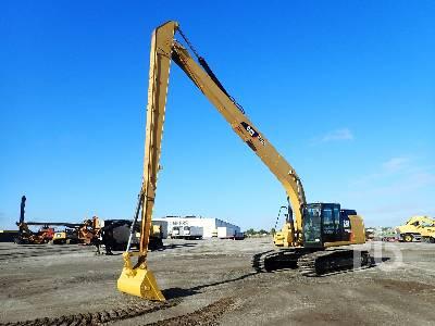 2015 CATERPILLAR 326FL Long Reach Hydraulic Excavator