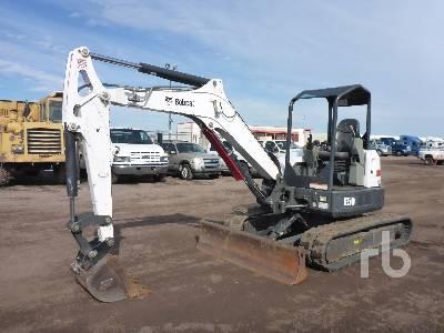 2013 BOBCAT E50 Mini Excavator (1 - 4.9 Tons)