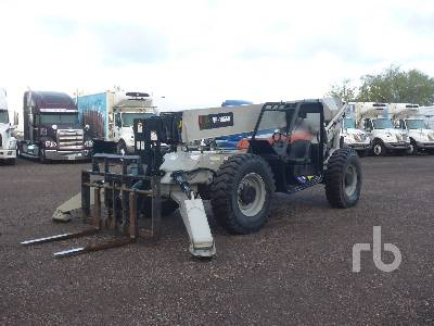 2012 SKYJACK VR1056D 10000 Lb 4x4x4 Telescopic Forklift