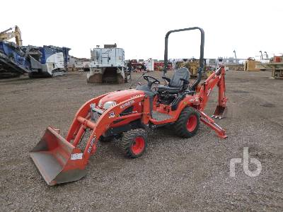 2016 KUBOTA BX25 4WD Utility Tractor