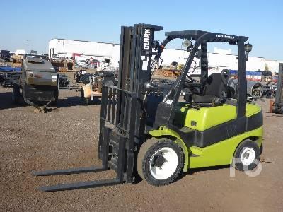 CLARK C30L 5500 Lb Forklift