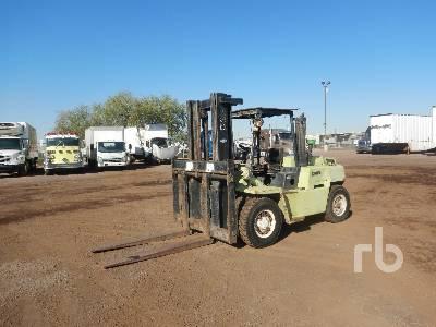 1991 CLARK C500Y110D 10000 Lb Forklift