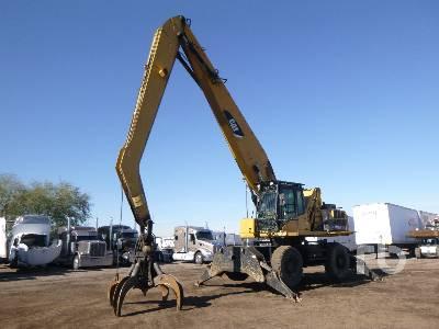 2009 CATERPILLAR M325DMH Material Handler 4x4 Mobile Excavator