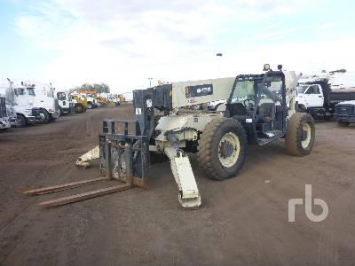 2008 INGERSOLL-RAND VR1056D 10000 Lb 4x4x4 Telescopic Forklift