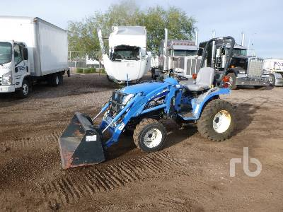 2005 NEW HOLLAND TC240A 4WD Utility Tractor