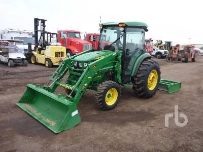 2016 JOHN DEERE 4066R 4WD Utility Tractor