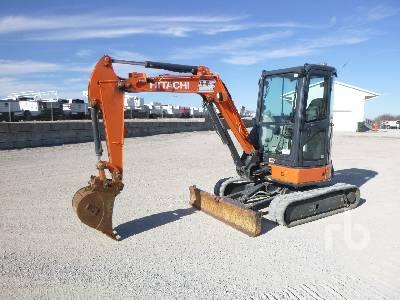 2013 HITACHI ZX35U-5N Mini Excavator (1 - 4.9 Tons)