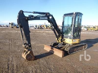 John Deere 17ZTS Mini Excavator Specs & Dimensions