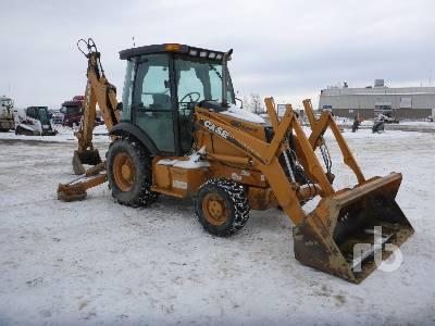 2006 CASE 580 Super M 4x4 Loader Backhoe