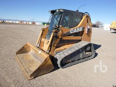2010 CASE 445CT Series 3 2 Spd High Flow Compact Track Loader