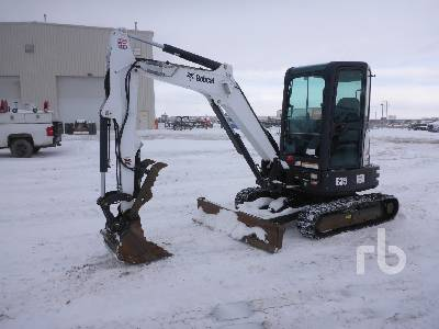 2014 BOBCAT E35 Mini Excavator (1 - 4.9 Tons)