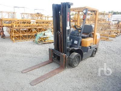 TCM FCG25F9 4600 Lb INOPERABLE Forklift
