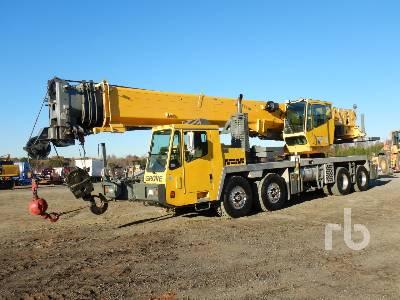2007 GROVE TMS700E 50 Ton 8x4x4 Hydraulic Truck Crane