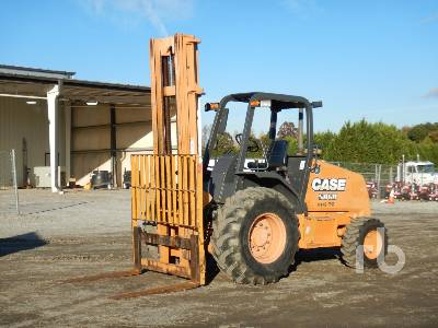 2014 CASE 586H 6000 Lb 4x4 Rough Terrain Forklift