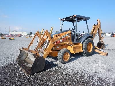 2004 CASE 580M Series 2 4x4 Loader Backhoe