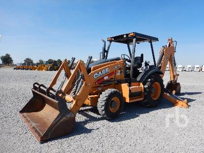 2015 CASE 580N 4x4 Loader Backhoe