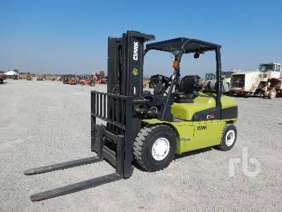 2016 CLARK C50SL 9000 Lb Forklift