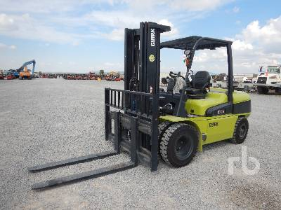 Unused 2018 CLARK C55SD 10000 Lb Forklift