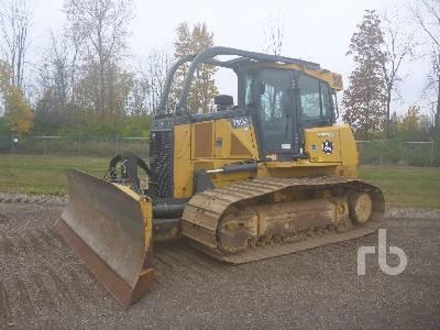 2012 JOHN DEERE 750K LGP Crawler Tractor
